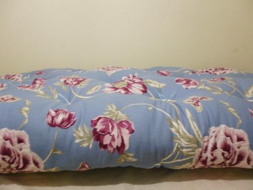 almofadão futon para palets/banco madeira/sob medida!