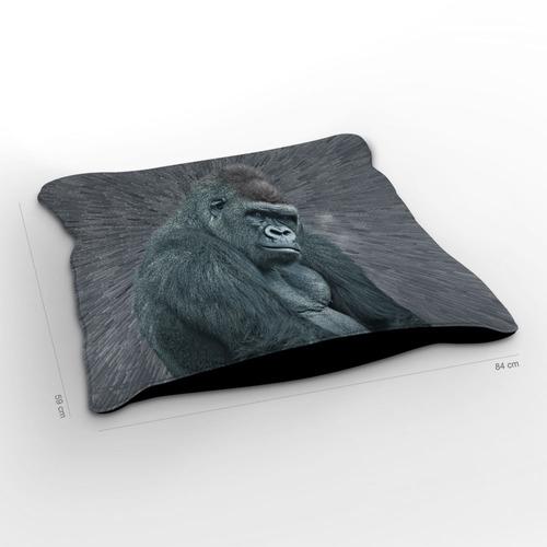 almofadão selvagem gorila 85x60cm