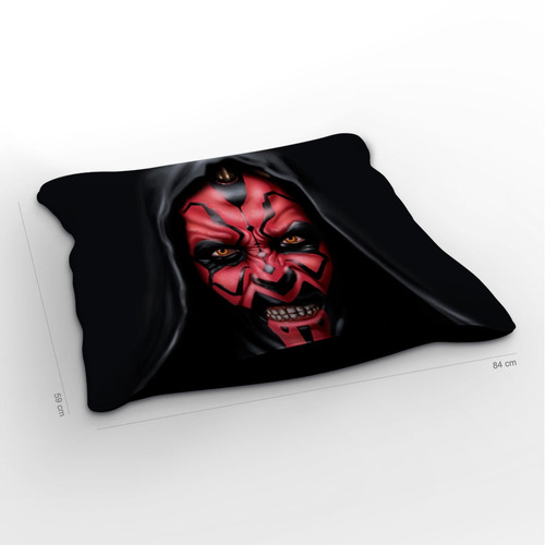 almofadão star wars darth maul 85x60cm