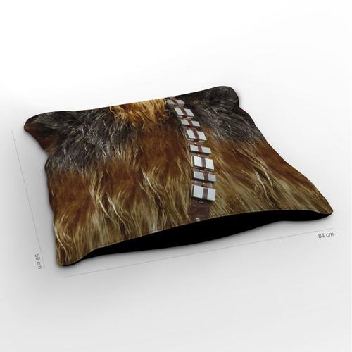 almofadão star wars traje chewbacca 85x60cm