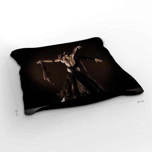 almofadão tango black 85x60cm