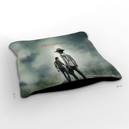 almofadão the walking dead don't look back 85x60cm