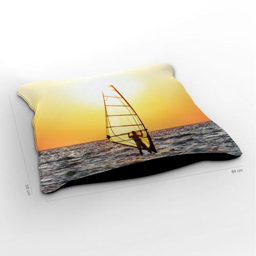 almofadão windsurf peace 85x60cm