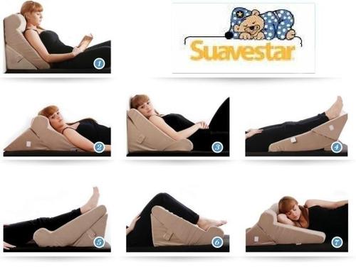 almohada 7 posiciones relax position viscoelastica suavestar