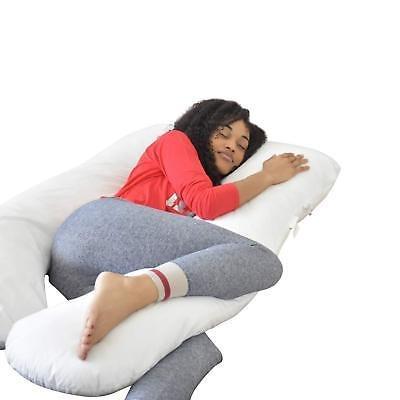 almohada acogedora para el embarazo de cuerpo completo doze