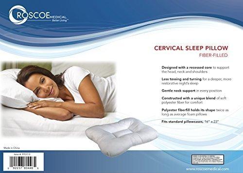 Almohada Cervical Almohada Para El Cuello Para Dormir Contorno Indentada