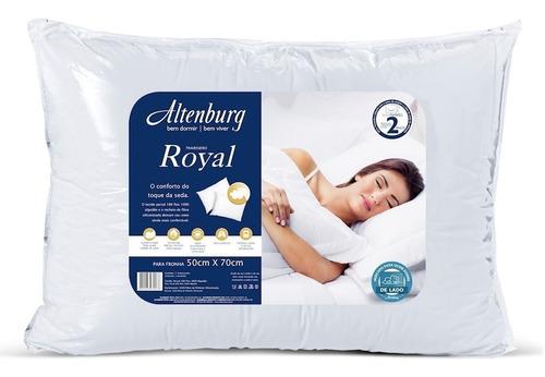 almohada altenburg royal 50x70 100% algodón funda 180 hilos calidad