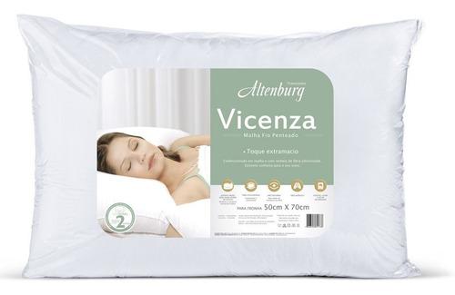 almohada altenburg vicenza 100% algodón suavidad 50x70