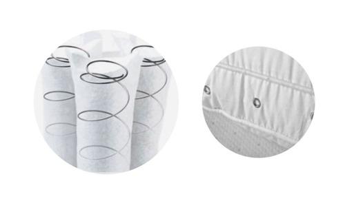 almohada biancobelo sistema mini resortes / el container