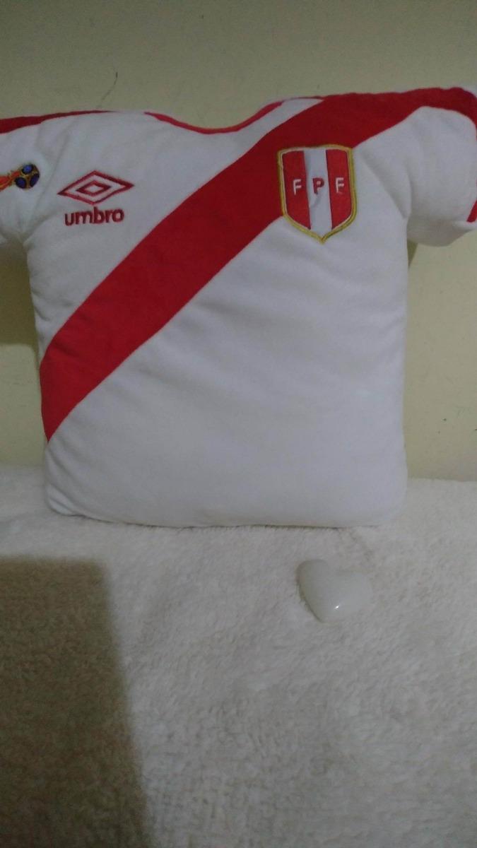 Almohada camiseta peruana s 35 00 en mercado libre for La mejor almohada del mercado