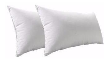 almohada cannon vellón 70x40 algodón lavable stock