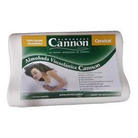 Almohada Cannon Visco Elástica  Preforma Cervical