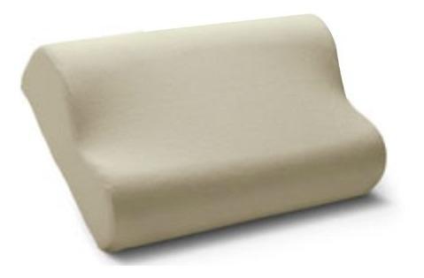 almohada cannon viscoelastica cervical 57 x 37 espuma