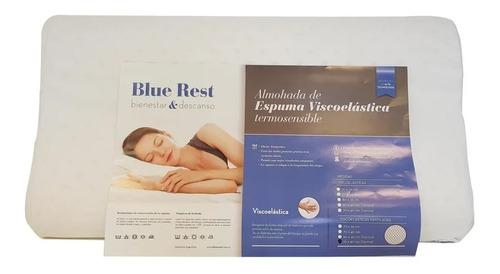 almohada cervical blue rest viscoelastica clasica envios