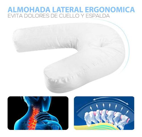 almohada cervical correctora de postura anti ronquido crazy