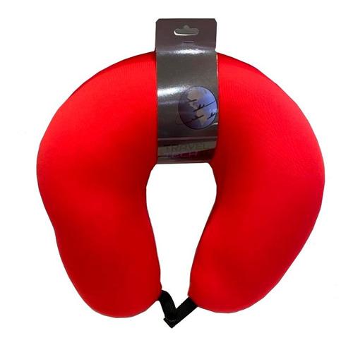almohada cervical cuello viaje relax microesferas traveltech