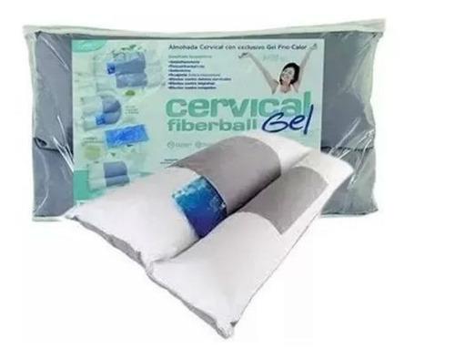 almohada cervical fiberball spa gel