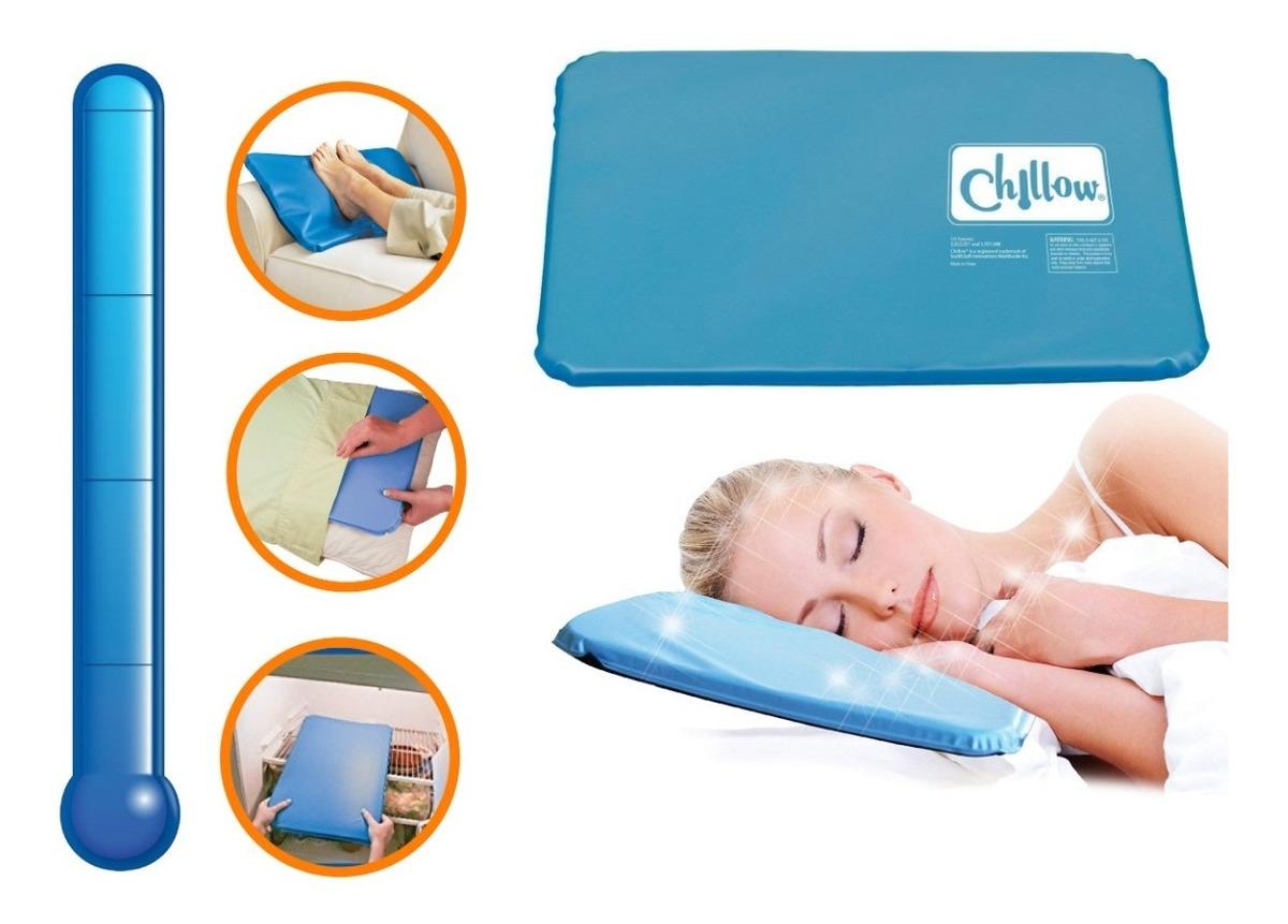 Resultado de imagen para Almohada Chillow Térmica Con Cojín De Alivio Gel Refrescante