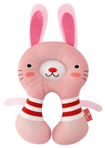 almohada cojin cuello para bebes coneja niña estabilizadora