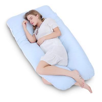 almohada corporal de 60 \  embarazo meiz con funda de algod