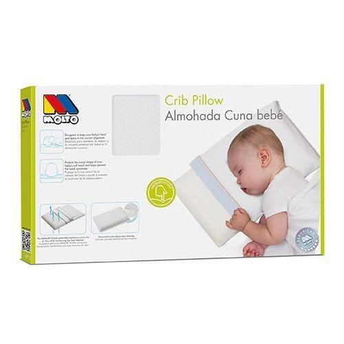 almohada de cuna memoria para bebe molto