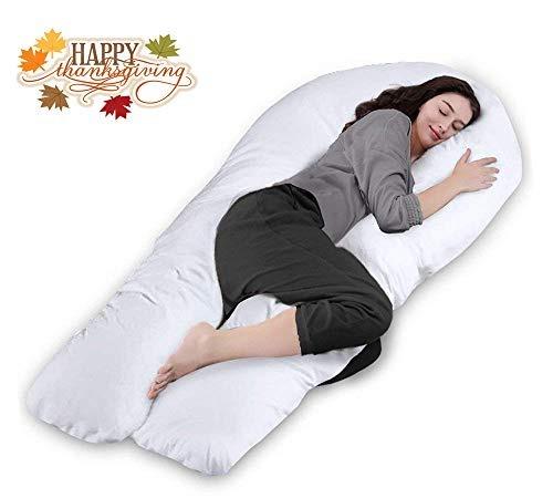 almohada de embarazo, almohada de maternidad de cuerpo ente