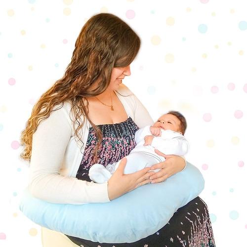 almohada de lactancia - cojin bebe muamor