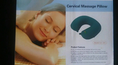 almohada de masaje cervical pillow