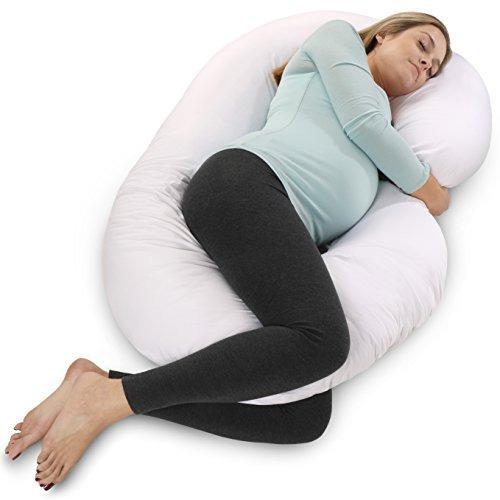 almohada de maternidad pharmedoc cuerpo completo forma de c
