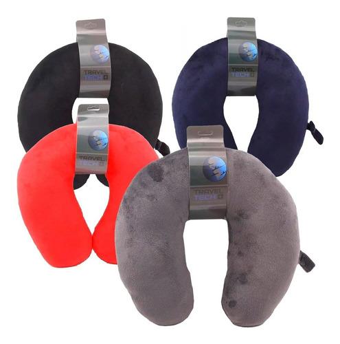 almohada de viaje avion relax cervical cuello travel tech