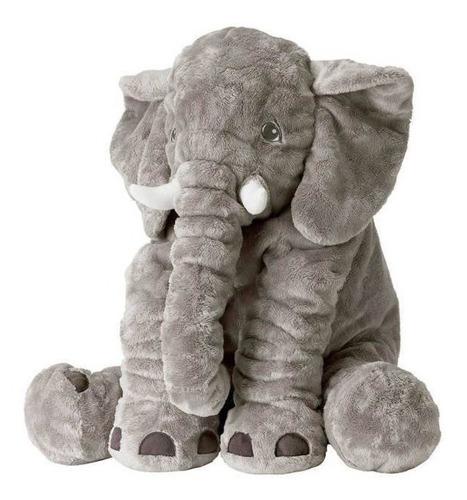 almohada elefante bebés 60cm cómoda colores suave