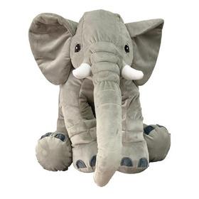 Almohada Elefante Cojin Suave Bebes Niños Peluche 75cmx47cm