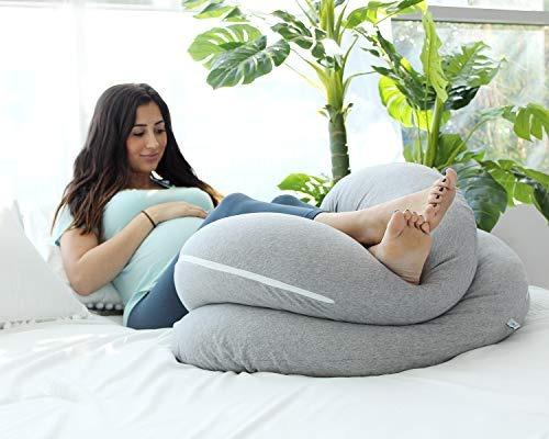 almohada embarazo en forma de c + envío gratis