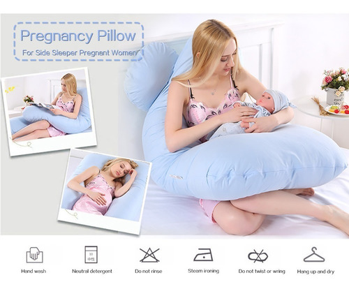 almohada embarazo multifuncional para mujeres embarazada dur