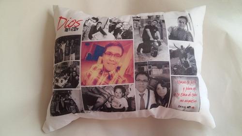 almohada grande personalizada con fotos - deshal - regalos