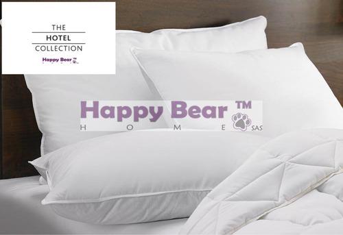 almohada hotel siliconada promoción 4 unidades+forros envío