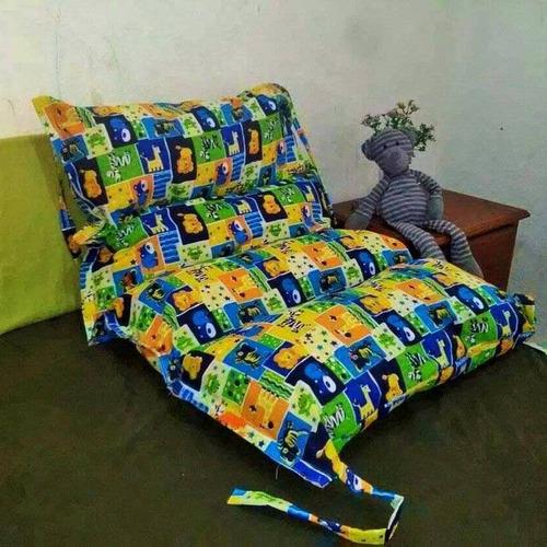 almohada infantil 2 en 1 para bebes y niños