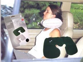 almohada inflable ideal para viajes