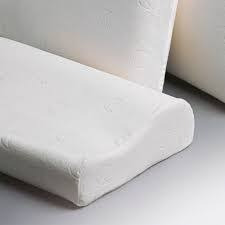 almohada inteligente fiberball cervical memoria con funda