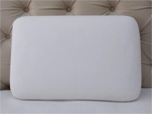 almohada inteligente sensitive standard fiberball 61x40x14