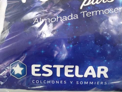 almohada inteligente viscoelastica estelar 55x40x10 funda c