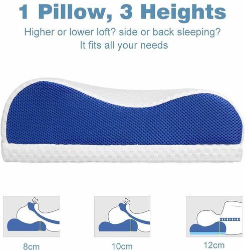 almohada langria memory foam pillow