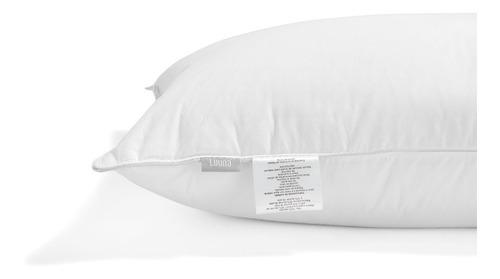 almohada luuna de plumas y down de pato en capas, estándar