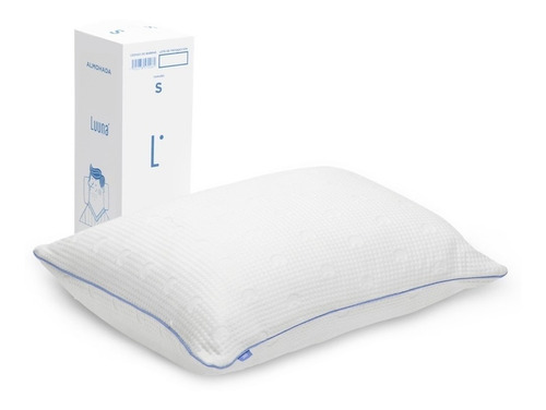 almohada luuna memory foam ajustable, king size