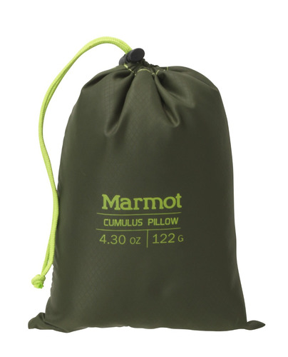almohada marmot outdoor cumulus pillow