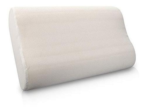 almohada memory foam cervical 50x30cms