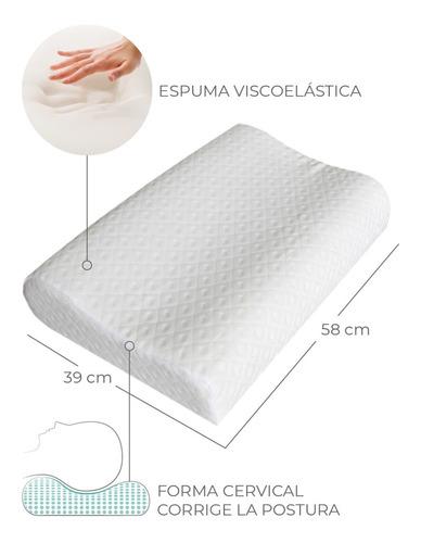 almohada memory nuvola cervical medium