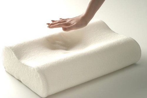 almohada memory pillow ortopedica indeformable termosensible