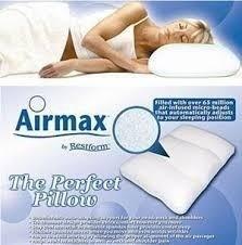almohada ortopedica air max descanso con microesferas*elite*