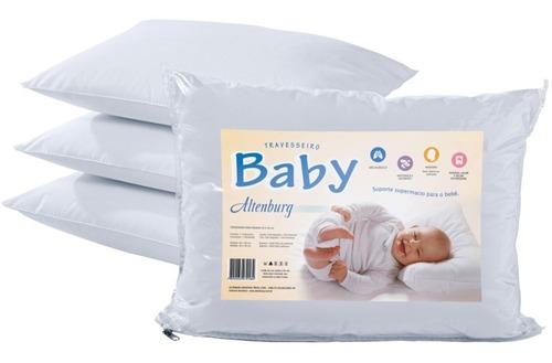 almohada para bebe altenburg 40x30 suavidad antialérgica antimoho